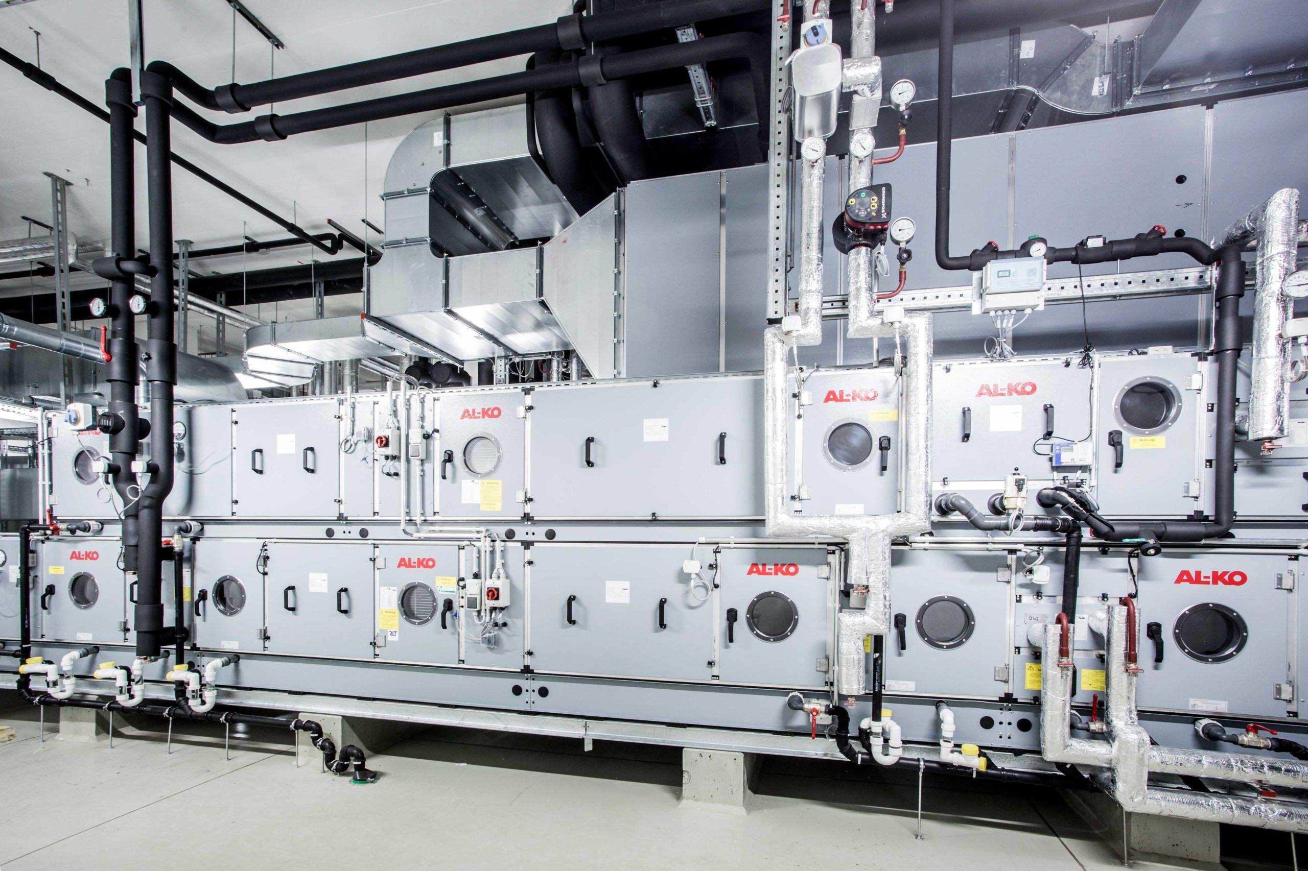 Vetter Pharma GmbH | Ravensburg HEATING AND COOLING STATION