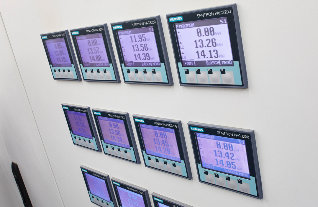 EIB technology. Displays at the Green Factory.