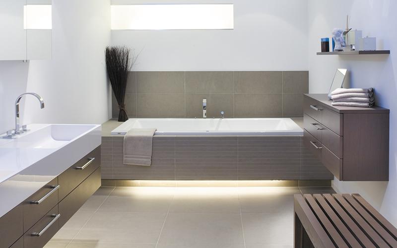 Beispiel für ein Badezimmer eines Privatkunden.