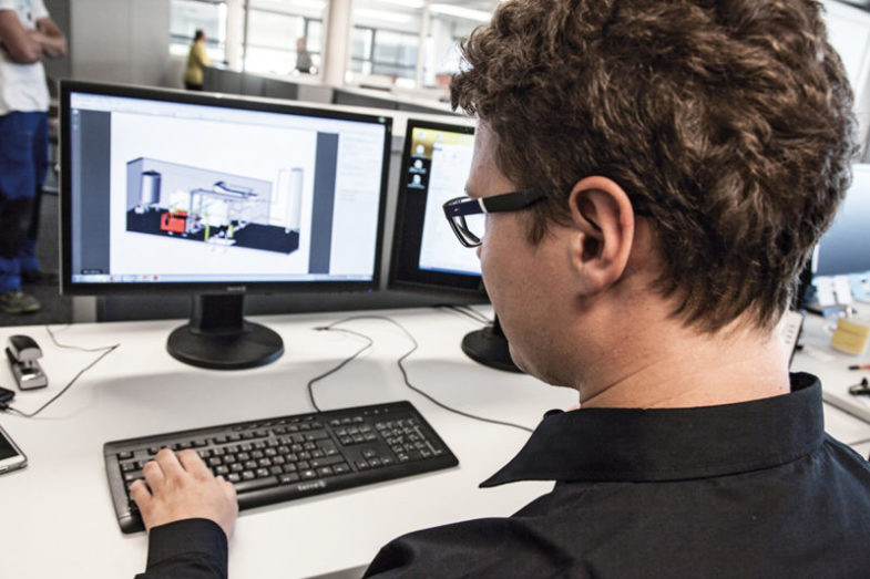 CAD Planung im Anlagenbau. 3D-Planung und -Konstruktion garantieren höchste Qualität