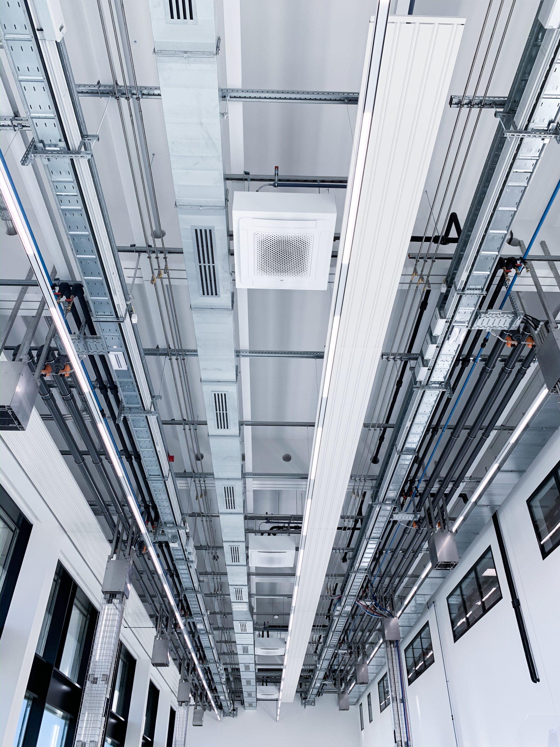 Gebäudetechnik Showroom Multivac