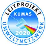 Logo Kumas Leitprojekt 2020 für die Green Factory als vorbildliches Umweltprojekt