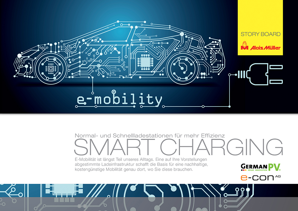 Storyboard zur e-Mobilität