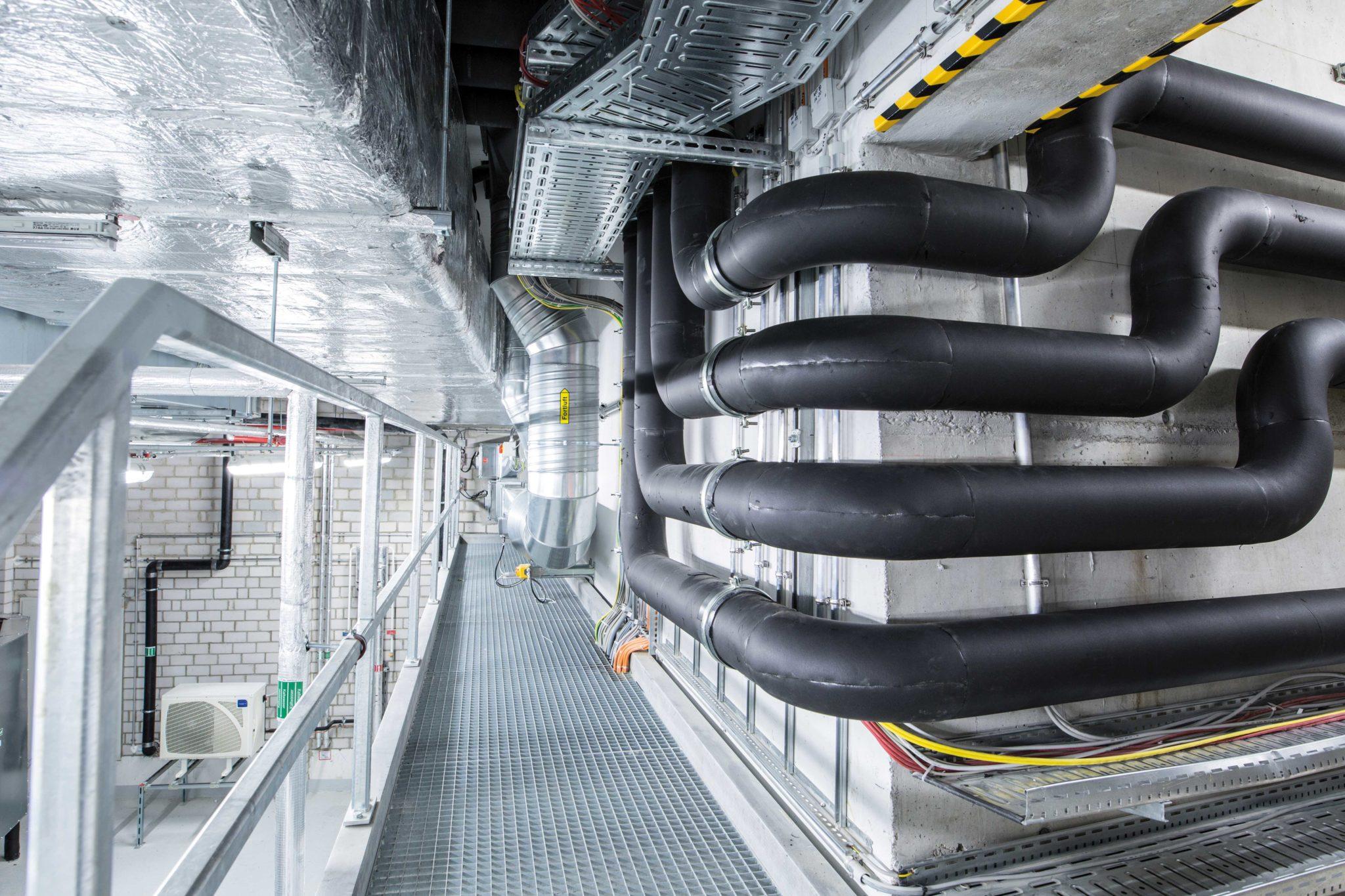 Technik ZF Friedrichshafen, Medienversorgung
