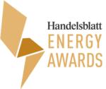 Logo der Auszeichnung Handelsblatt Energy Award 2021 für die Green Factory